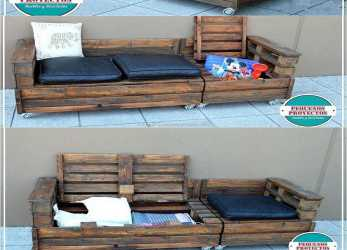 A Buon Mercato The Reshaping Wood Pallet Ideas With, Storage Option, The Best Because They Help In Avoiding, Mess In A Room, This Idea Is A Combination As It