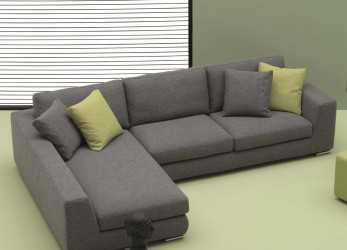Magnifico Sofa With Chaise Longue