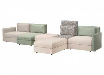 Bello Divano Ikea Vallentuna Sbalorditivo My Home Living Room Vallentuna Couch By Ikea With Pillows By