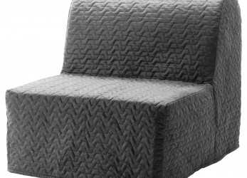 Stupefacente IKEA LYCKSELE MURBO Chair-Bed Comfortable, Firm Foam Mattress, Use Every Night
