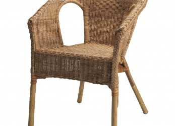 Elegante AGEN Chair, Rattan, Bamboo $34.99 Handwoven; Each Piece Of Furniture Is Unique. Stackable Chair; Saves Space When, In Use